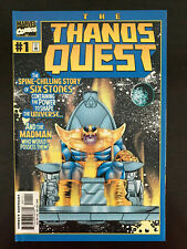 Thanos Quest #1 #2 TPB 2000 Marvel comic book