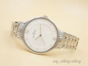 SKAGEN SKW2254 Crystal Silver Dial All Stainless Steel Ladies Watch