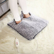 Electric Foot Warmer Heated Blanket Feet Heater Pad Cushions Heating Sleeve UDD