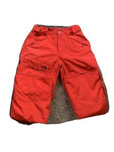 The North Face Mens Red Nylon Snow/Ski Pants Size M