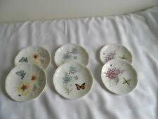 """New In Box Lenox BUTTERFLY MEADOW Party Plates Set Of 6 6"""""""