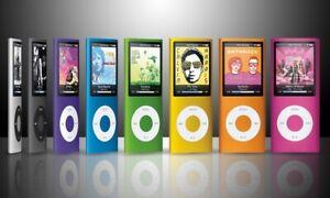 apple ipod nano 4th Generation 16GB random color