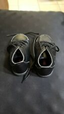 Show N Tell Boys Toddler 5W Black Laced Shoes Preowned