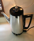 VTG GE General Electric 9 Cup Coffee Percolator Pot Maker Immersible A5P15 Works