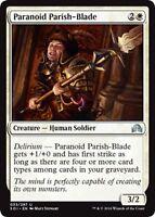 MTG Magic - (U) Shadows Over Innistrad - 4x Paranoid Parish-Blade x4 - NM/M