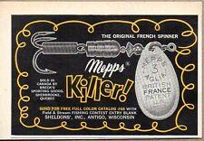1965 Print Ad Mepps Killer Spinner Fishing Lures Antigo,WI