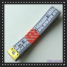 Analogical Tape measure. Inches/centimetres - Fibreglass - Hemline