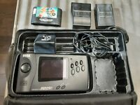 Sega Genesis Nomad with Power Cord Case and Game