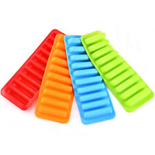 Silicone Ice Cube Tray Ice Mould Water Stick Bottle Ice Cream Tool DIY Maker G9C