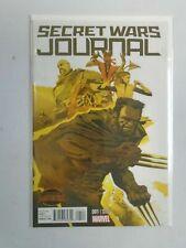 Secret Wars Journal #1B 1:25 Limited variant cover 9.2 NM- (2015)