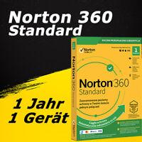Norton 360 Standard 2021/2020 Vollversion Deutsch Lizenz ESD 1 Jahr / 1 Gerät