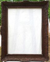 N° 120  Grand Cadre Epoque Régence chêne sculpté début XVIIIème siècle
