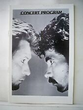 DARYL HALL / JOHN OATES Playbill MEADOWLANDS ARENA East Rutherford, NJ 1983