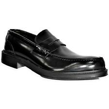 Alessandro gilles Men's Shoes SC11 Loafers Leather Black