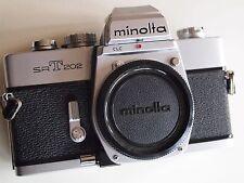 Mint- boxed Minolta SRT 202 Camera all mechanical rival Canon F1n Nikon F2 F FM2