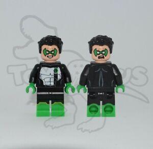 LEGO KYLE RAYNER Custom Pad Printed Minifigure DC COMICS GREEN LANTERN HEROES