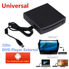 1Din Car Radio DVD Player External Android Stereo Interface USB Connect