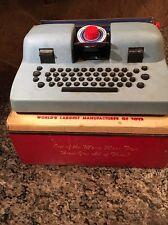 1950's Marx Tin Toy Typewriter with Original Box
