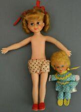 Vintage Mrs Beasley doll & Tutti friend Buffy Tv show Family Affair Mattel Toy