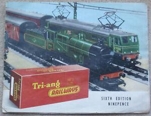 Vintage Tri-ang Railways Sixth Edition 1960 Catalogue