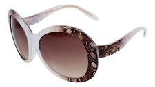 b62ff58f61 Gafas de sol Roberto Cavalli Oval RC 734 27 F serpiente marrón degradado  Len Transparente