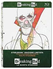 Blu Ray BREAKING BAD Stagione 05 - (Steelbook Limited Edition)(2 Blu-Ray) .NUOVO