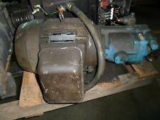 Vickers Pvb10 Rsy 40 Cm11 Hydraulic Pump W/ Tokyo 1730 Rpm 3.7 Kw Motor