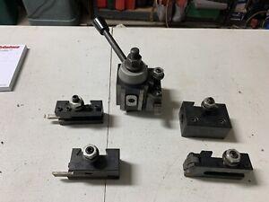 Lathe Quick Change Tool Post Holder Set Metal Work South Bend Atlas China