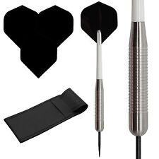 40g Heavy Weight Tungsten dart, Standard dart flights,stems, case!