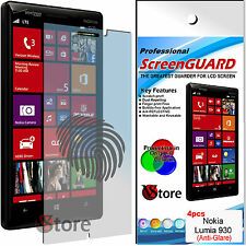 4 Film Opaque Pour Nokia Lumia 930 Antireflet Anti-traces Films scherm