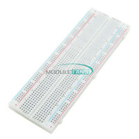 MB102 Solderless Breadboard 830 Points 2 Buses PCS Bread Board Test Circuit