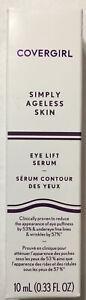 CoverGirl Simply Ageless Skin Eye Lift Serum, 10 mL (0.33 oz) ,SHIPS FREE!!!