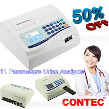 CONTEC Urine Analyzer BC400 11 Parameters test Thermal Printer free paper typeCE