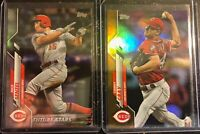 2020 TOPPS SERIES 1 NICK SENZEL RAINBOW SONNY GRAY GOLD FOIL PARALLEL LOT RC