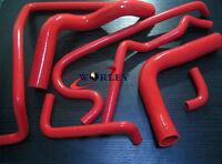 Red Silicone Radiator Heater Hose For Holden V8 VN VP VR VS 5.0L SS 304