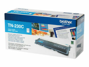 ORIGINAL BROTHER TN-230C Cartouche de Toner Cyan *NEUF*