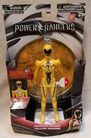 "POWER RANGERS - *New* Mighty Morphin 8"" Yellow Ranger Action Figure 2017 Bandai"