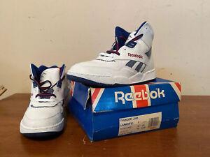 NOS 90's REEBOK Thunder Jam 74-5504 Sneakers Size Men's 4.5
