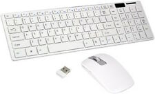 100% Orignal Terabyte White Wireless Keyboard With Mouse 2.4 GHz with warranty