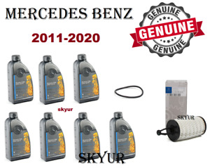 Mercedes Benz Engine Oil Filter With 7 Liters Motor Oil Kit 5W-40 GENUINE