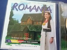 romania music of the world ...CD  Music very good. buy me ..