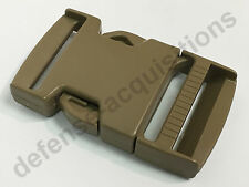 ITW NEXUS SR 1.5 Inch Side Release Single Adjust Buckle TAN