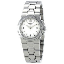 Tissot T-Sport Silver Dial Stainless Steel Ladies Watch T0802101101700