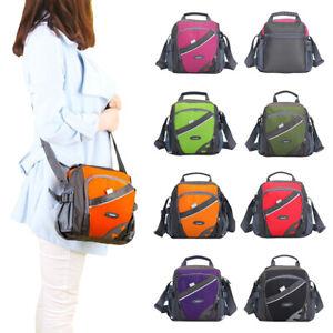 Unisex Men Multi Pocket Messenger Handbag Cross Body Bags Sports Shoulder Bag