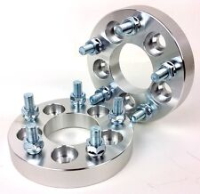 2Pcs Conversion Wheel Spacers 5X100 To 5X114.3 | 67.1 CB | 12X1.25 | 25MM 1 Inch