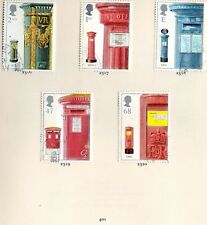 GB QE II 2002 SG2316 - 2320 Pillar Boxes set VFU