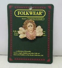 """1995 Boyd's FolkWear Collection Pin - """"Florence Wingsit"""" New"""