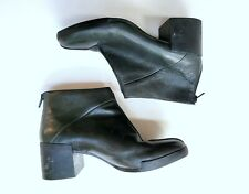 Camper 39 EU 8.5-9 US Lotta Black Leather Ankle Boots Booties YM1-7