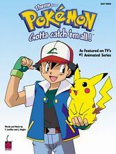 Pokemon Theme Easy Piano Sheet Music NEW  002500139