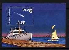 Gambia 610 MNH Halleys Comet, Ship